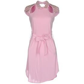 《期間限定セール開催中!》PHILIPP PLEIN レディース ミニワンピース&ドレス ピンク XS 100% レーヨン