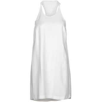 《期間限定 セール開催中》A.L.C. レディース ミニワンピース&ドレス ホワイト 2 レーヨン 97% / ポリウレタン 3%
