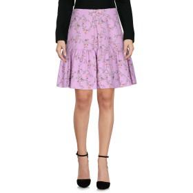 《セール開催中》BLUGIRL BLUMARINE レディース ひざ丈スカート ライトパープル 44 コットン 58% / レーヨン 42%