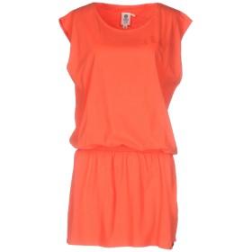 《期間限定セール開催中!》FRANKLIN & MARSHALL レディース ミニワンピース&ドレス オレンジ M 100% コットン