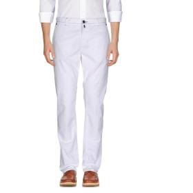 《期間限定セール開催中!》LUIGI BORRELLI NAPOLI メンズ パンツ ホワイト 32 コットン 97% / ポリウレタン 3%