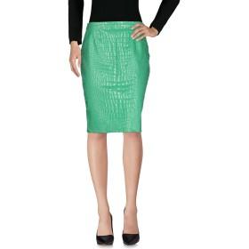 《セール開催中》MOSCHINO CHEAP AND CHIC レディース ひざ丈スカート グリーン 46 コットン 97% / 指定外繊維 3%