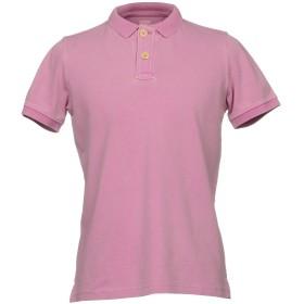 《セール開催中》FRADI メンズ ポロシャツ ライトパープル S 95% コットン 5% ポリウレタン