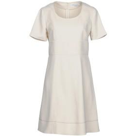 《セール開催中》SONIA RYKIEL レディース ミニワンピース&ドレス ベージュ 40 レーヨン 96% / ポリウレタン 4%