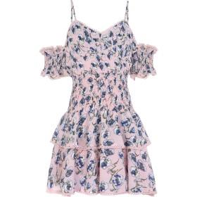 《期間限定セール開催中!》FOXIEDOX レディース ミニワンピース&ドレス ピンク S ポリエステル 100% NELL MINI DRESS