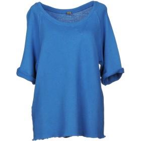 《期間限定セール開催中!》JIJIL レディース スウェットシャツ ブルー 40 コットン 100%