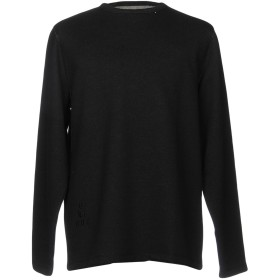 《期間限定セール開催中!》ONTOUR メンズ スウェットシャツ ダークブルー S ポリエステル 56% / コットン 44%