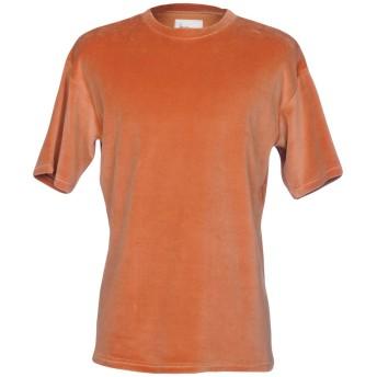 《9/20まで! 限定セール開催中》BONSAI メンズ T シャツ 赤茶色 XS コットン 85% / ナイロン 15%