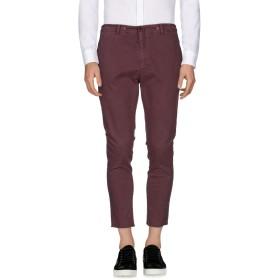 《期間限定セール開催中!》DANIELE ALESSANDRINI HOMME メンズ パンツ ボルドー 44 コットン 97% / ポリウレタン 3%