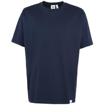 《期間限定セール開催中!》ADIDAS ORIGINALS メンズ T シャツ ダークブルー XS 100% コットン X BY O SS TEE