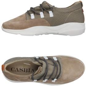 《期間限定 セール開催中》CASBIA メンズ スニーカー&テニスシューズ(ローカット) ドーブグレー 41 革 / 紡績繊維