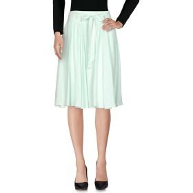 《セール開催中》PHILOSOPHY di LORENZO SERAFINI レディース 7分丈スカート ライトグリーン 44 86% アセテート 9% シルク 5% 指定外繊維