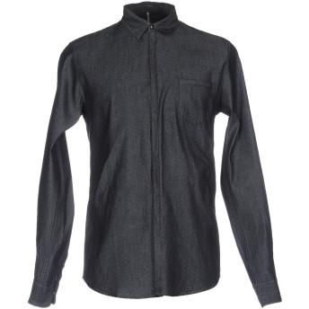 《期間限定 セール開催中》INDIVIDUAL メンズ デニムシャツ ブルー S コットン 100%