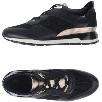 《期間限定セール開催中!》GEOX レディース スニーカー&テニスシューズ(ローカット) ブラック 35 紡績繊維
