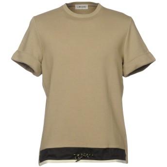 《セール開催中》LOW BRAND メンズ スウェットシャツ カーキ 1 コットン 100%