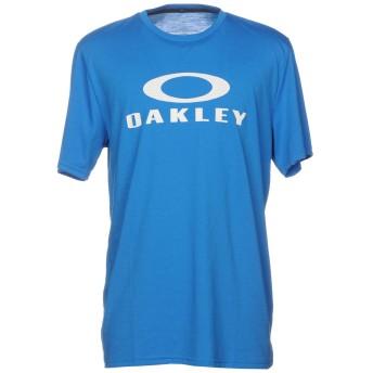 《9/20まで! 限定セール開催中》OAKLEY メンズ T シャツ アジュールブルー S ポリエステル 85% / コットン 15%