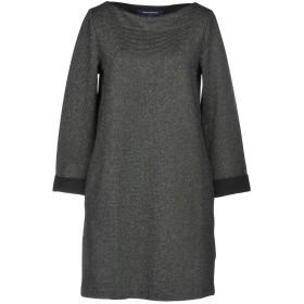 《セール開催中》FRENCH CONNECTION レディース ミニワンピース&ドレス ブラック 10 ポリエステル 75% / レーヨン 17% / ポリウレタン 4% / 金属繊維 2% / ナイロン 2%