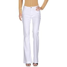 《セール開催中》,MERCI レディース パンツ ホワイト 27 コットン 98% / ポリウレタン 2%