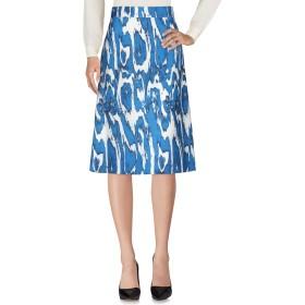 《期間限定セール開催中!》MARNI レディース 7分丈スカート ブルー 38 ウール 72% / シルク 28%