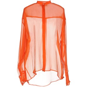 《期間限定 セール開催中》MSGM レディース シャツ オレンジ 40 シルク 100%