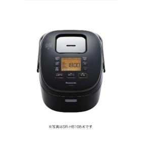 SR-HB108 炊飯器 ブラック [5.5合 /IH]