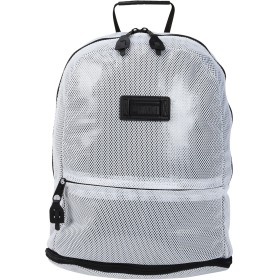 《セール開催中》PUMA メンズ バックパック&ヒップバッグ ホワイト ポリエステル 100% Puma Pace Zip-out Backpack