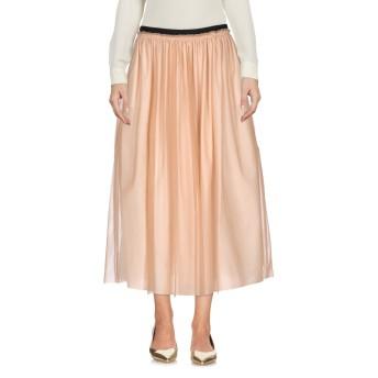《セール開催中》GOLD CASE レディース 7分丈スカート あんず色 42 100% ナイロン