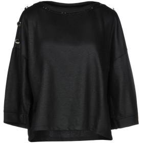 《期間限定セール開催中!》MANILA GRACE レディース スウェットシャツ ブラック 2 ポリエステル 71% / コットン 21% / アクリル 6% / レーヨン 1% / ナイロン 1%