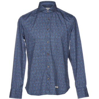 《セール開催中》TINTORIA MATTEI 954 メンズ シャツ ブルーグレー 39 コットン 100%
