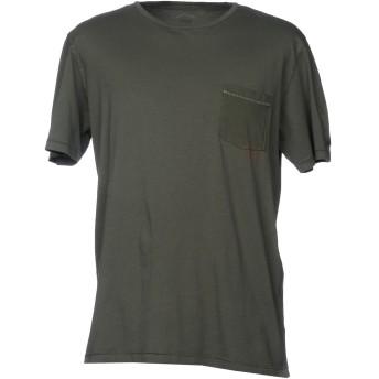 《セール開催中》VINTAGE 55 メンズ T シャツ ダークグリーン S 100% コットン