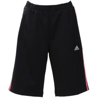 レディーススポーツウェア ウォームアップハーフパンツ W ジャージハーフパンツ レディース adidas (アディダス) EUA59 CX4415 ブラック