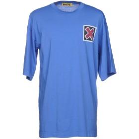《期間限定セール開催中!》WHITE メンズ T シャツ ブルー M/L コットン 100%