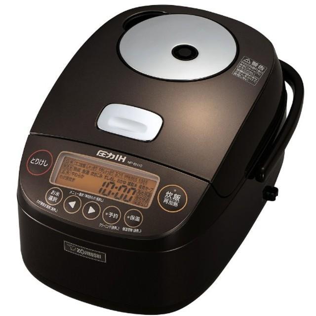NP-BH10 炊飯器 極め炊き ブラウン [5.5合 /圧力IH]