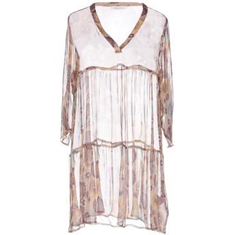 《セール開催中》BELLA JONES レディース ミニワンピース&ドレス ベージュ 1 レーヨン 100%