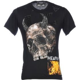 《期間限定 セール開催中》_ATELIER DOMREBEL メンズ T シャツ ブラック XS 100% コットン