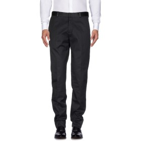 《期間限定セール開催中!》ALEXANDER MCQUEEN メンズ パンツ ブラック 48 100% コットン