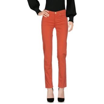 《セール開催中》ROSSOPURO レディース パンツ 赤茶色 40 コットン 97% / ポリウレタン 3%
