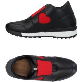 《期間限定セール開催中!》LOVE MOSCHINO レディース スニーカー&テニスシューズ(ローカット) ブラック 35 指定外繊維