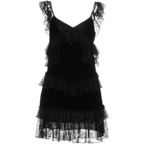 《期間限定セール中》AMEN COUTURE レディース ミニワンピース&ドレス ブラック 42 ポリエステル 100%