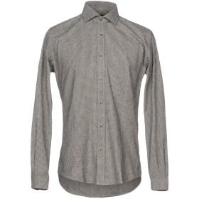 《期間限定セール開催中!》LIU JO MAN メンズ シャツ ブラック 41 コットン 70% / ポリエステル 30%