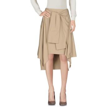 《セール開催中》AALTO レディース ひざ丈スカート サンド 36 コットン 100%