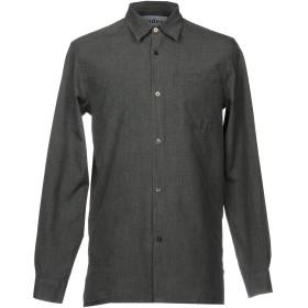 《期間限定セール開催中!》TUDES STUDIO メンズ シャツ グレー 50 コットン 100%