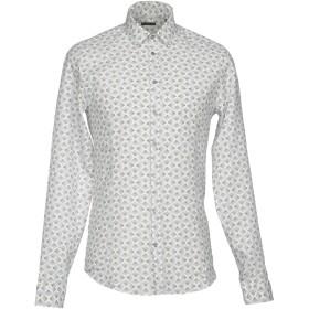 《セール開催中》PATRIZIA PEPE メンズ シャツ ブラック 48 麻 64% / コットン 36%