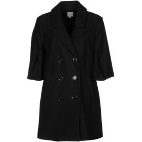 《セール開催中》SILVIAN HEACH レディース コート ブラック M ウール 50% / ポリエステル 50%