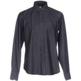 《期間限定セール開催中!》GMF 965 メンズ デニムシャツ ブルー 41 コットン 100%