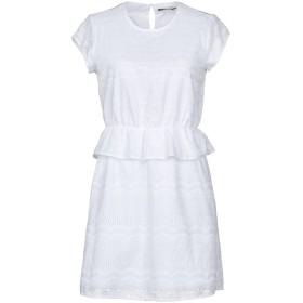 《期間限定セール開催中!》ONLY レディース ミニワンピース&ドレス ホワイト 34 コットン 100%