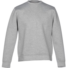 《期間限定セール開催中!》VI.E SIX EDGES メンズ スウェットシャツ ライトグレー S コットン 100%