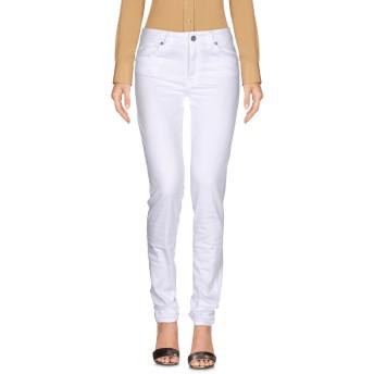 《セール開催中》BLUGIRL BLUMARINE レディース パンツ ホワイト 25 コットン 97% / ポリウレタン 3%