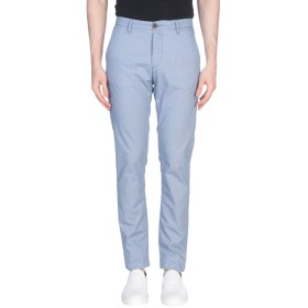 《期間限定セール開催中!》INDIVIDUAL メンズ パンツ ブルー 44 コットン 53% / レーヨン 24% / テンセル 20% / ポリウレタン 3%