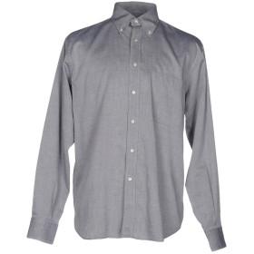 《期間限定セール開催中!》PETER & SONS メンズ シャツ グレー 41 コットン 100%